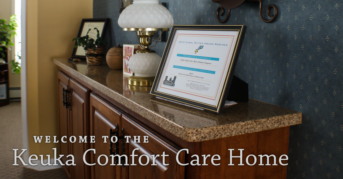 Welcome to the Keuka Comfort Care Home