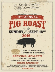 2016 pig roast poster picture